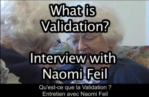 Qu'est-ce que la Validation ? entretien avec Naomi Feil