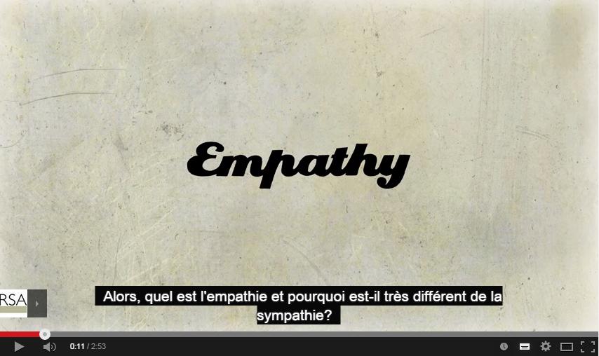 Différencier l'empathie et la sympathie