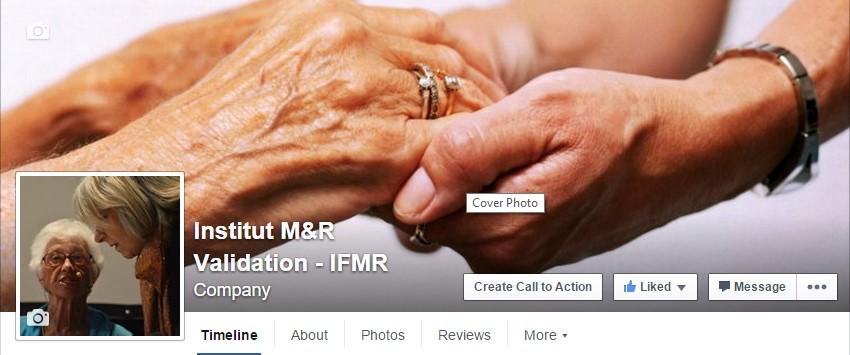 Page Facebook de l'Institut M&R
